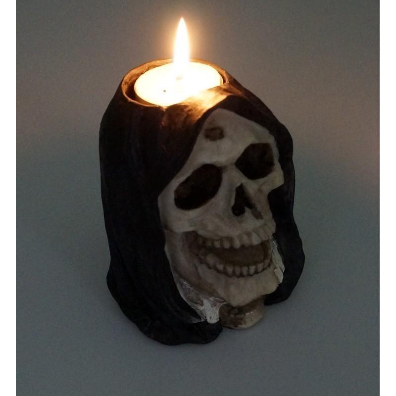 Czaszka na 1 świeczkę T-LIGHT