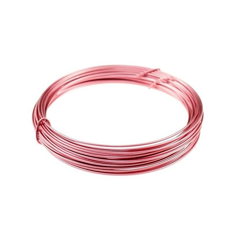 Ring aluminiowy- 2,0mm długość 12m