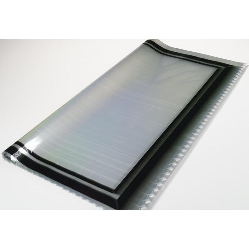 Celofan przeźroczysty z ramką - 60 cm x 80 cm