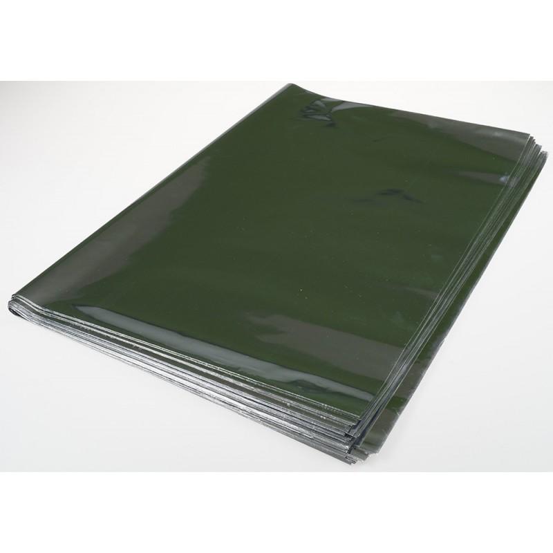 Rękaw foliowy metalizowany - 60 cm x 80 cm - 50 szt
