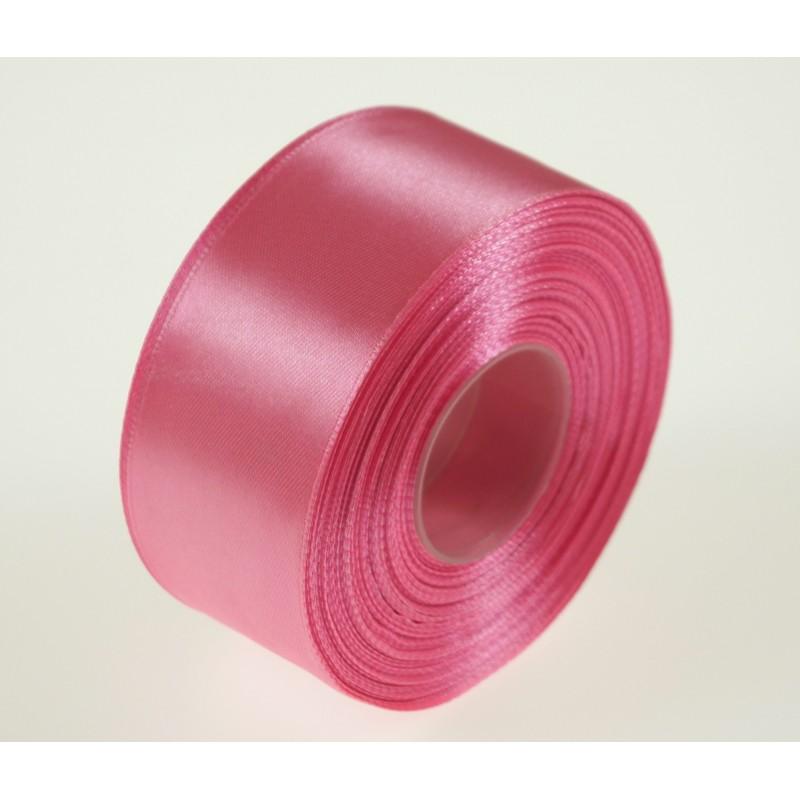 Wstążka satynowa  38 mm x 32 m   Różowy