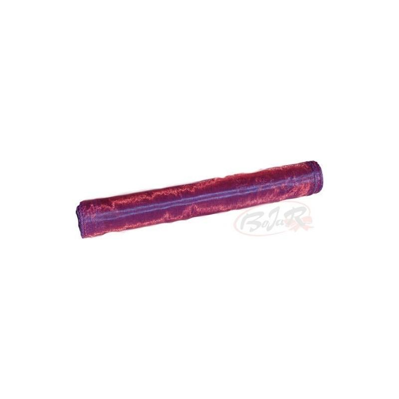 Organza 36 cm x 9 m   5099 - Fioletowy i bordowy