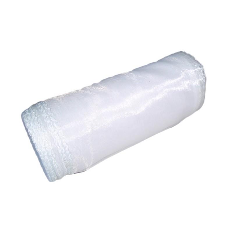 Organza 12 cm x 9 m   5001 - Biały