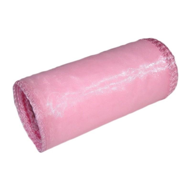 Organza 12 cm x 9 m   5016 - Różowy jasny