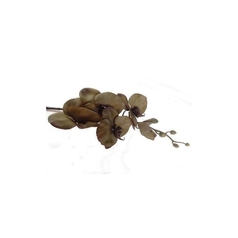Storczyk silikonowy - zielony
