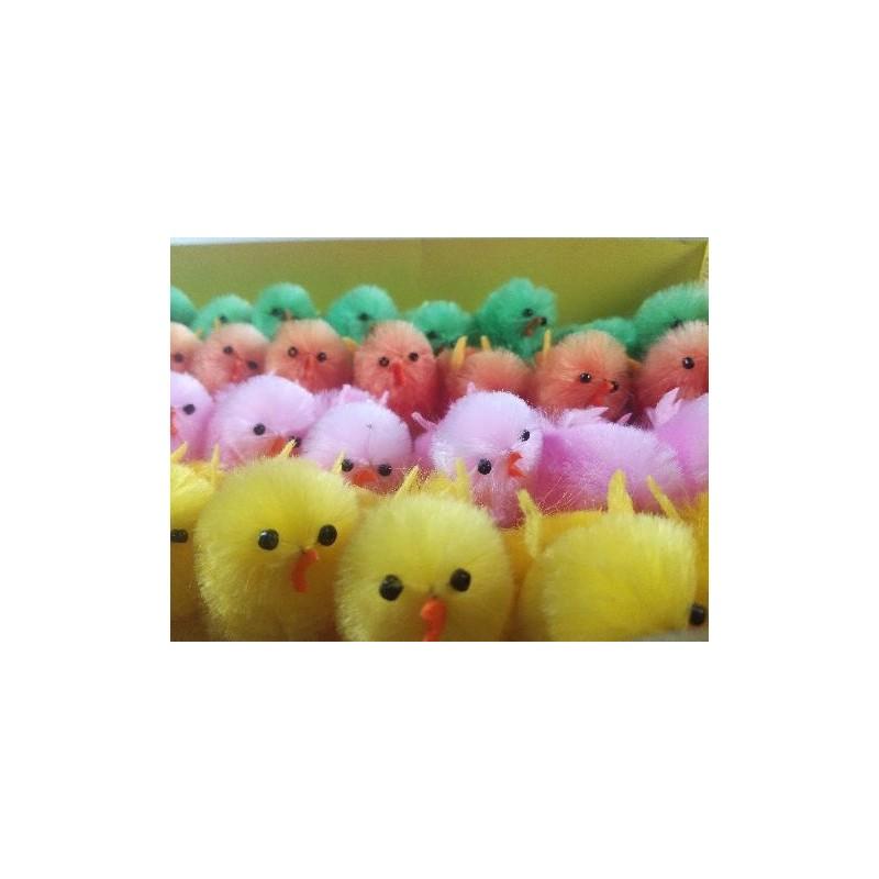 Kurczaki - kolorowe 36szt.