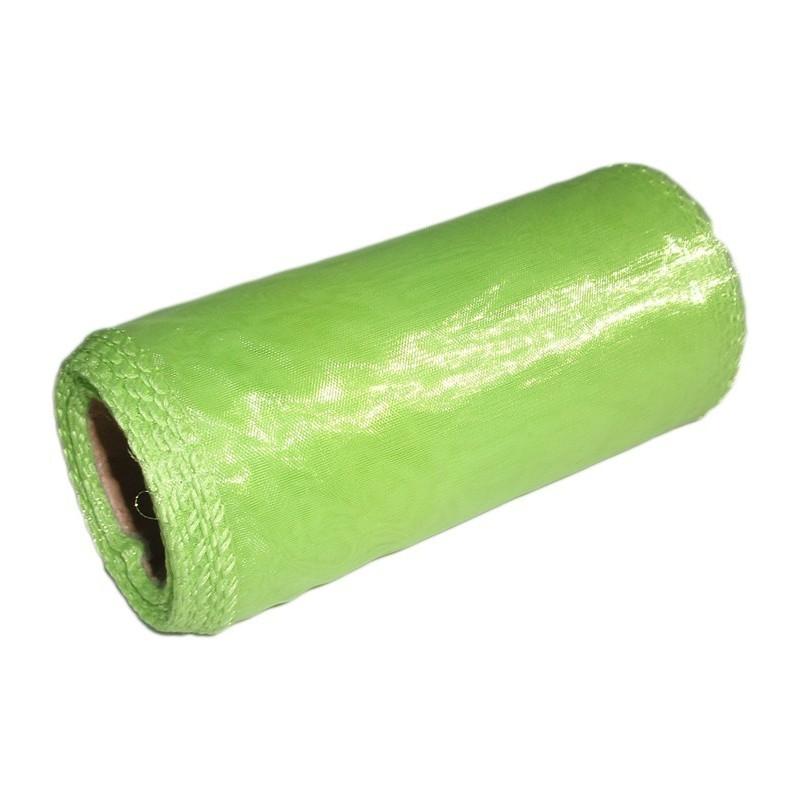 Organza 12 cm x 9 m | 5072 - Zielony