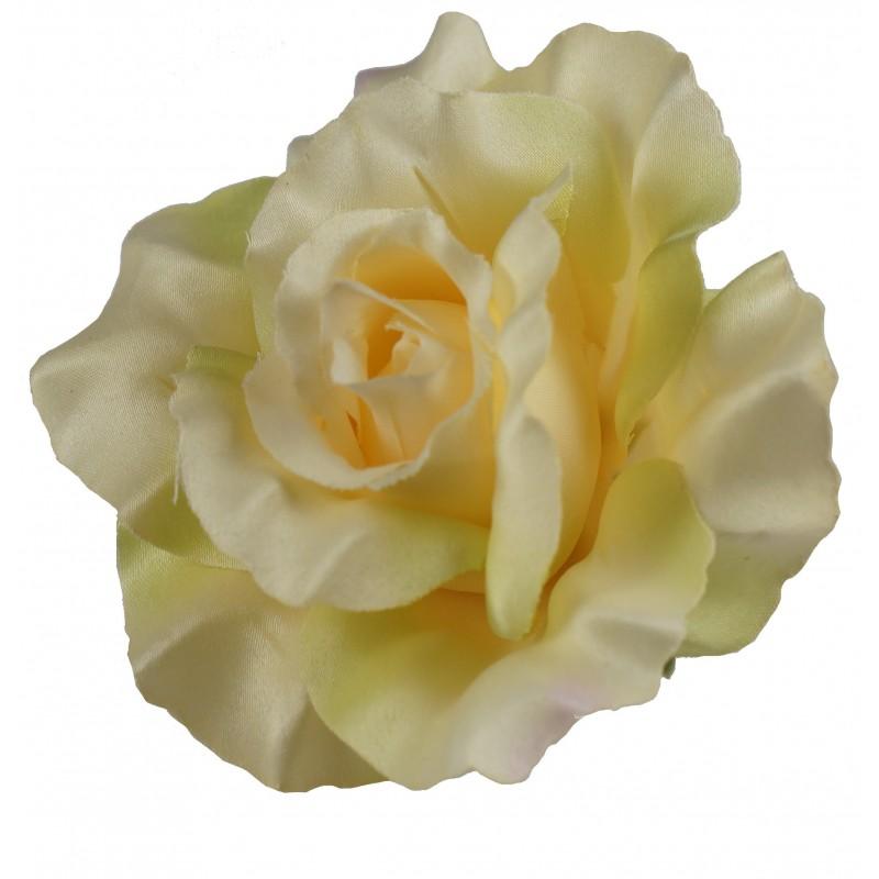Żółta róża - kwiat wyrobowy 12 szt.