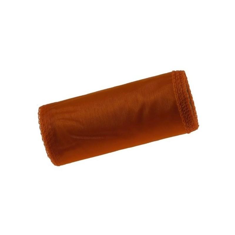 Organza 12 cm x 9 m | 5054 - Ciemny pomarańcz