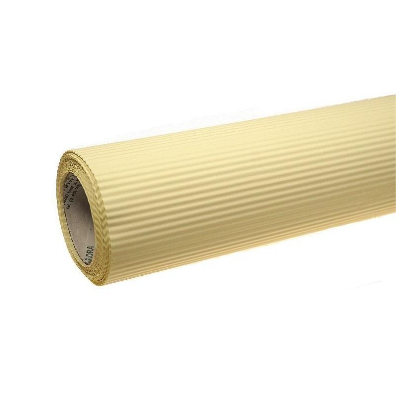 Papier karbowany - żółty