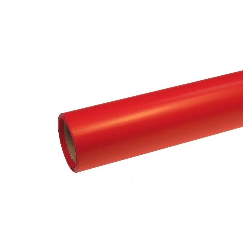 Papier satynowy - czerwony (połysk)