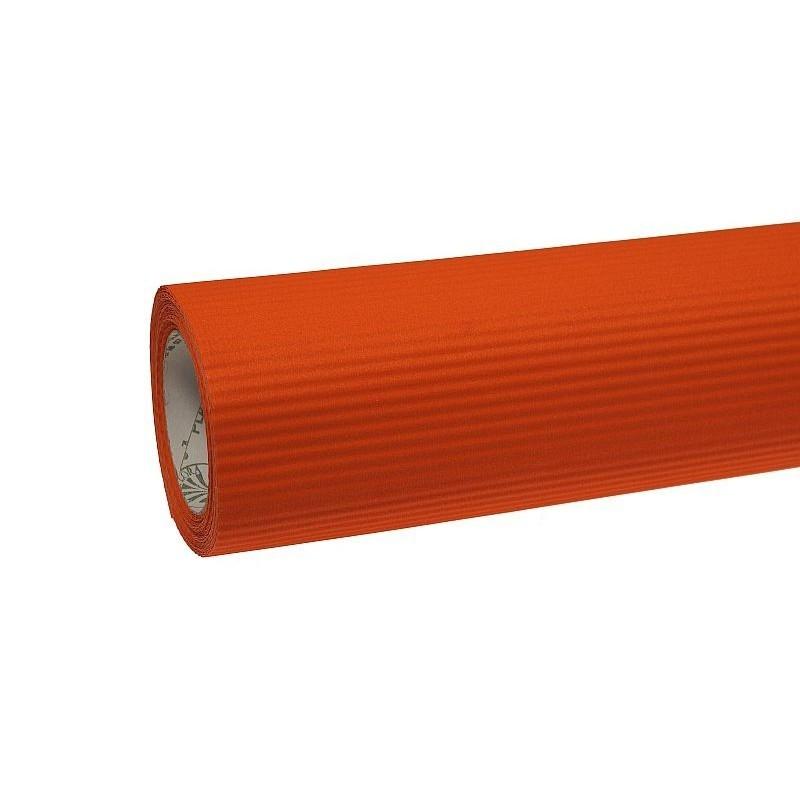 Papier karbowany - pomarańczowy
