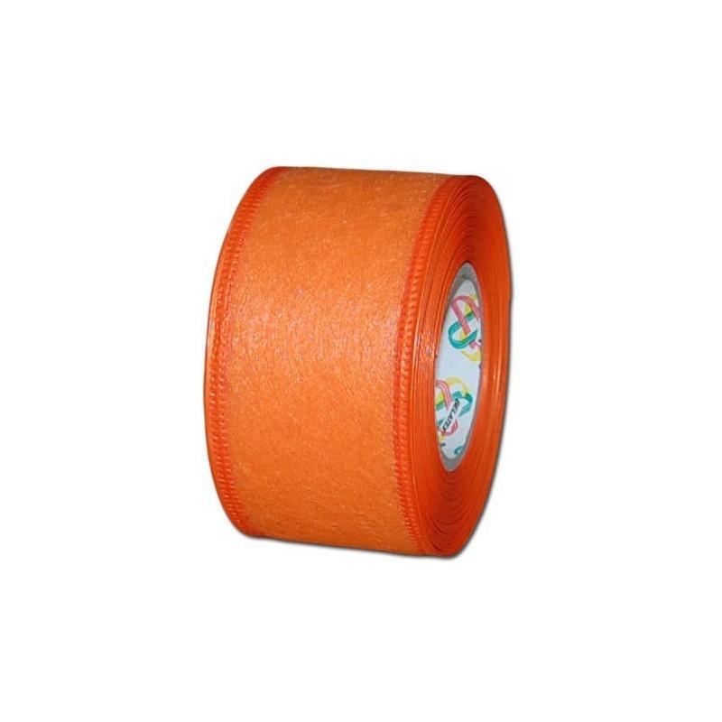 Flizelina wstążka - 4 cm x 10 m | Z5 - Pomarańczowy