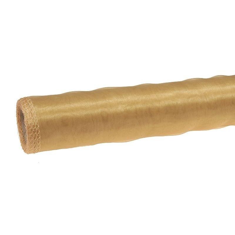 Organza 36 cm x 9 m | 5011 - Złoty