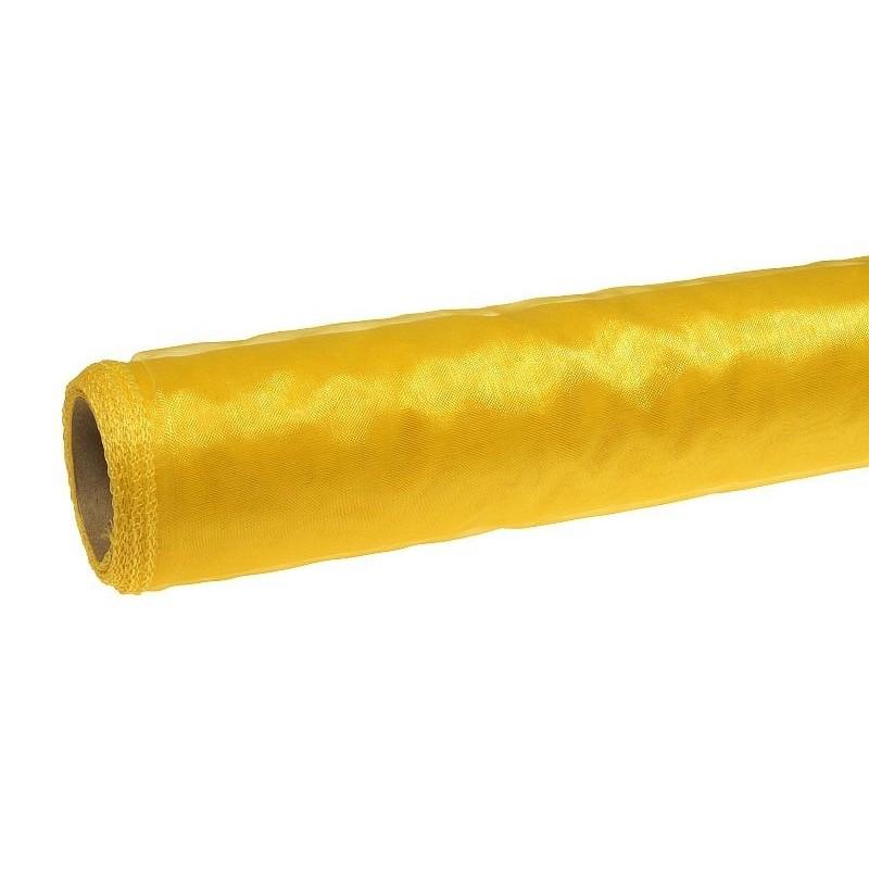 Organza 36 cm x 9 m   5034 - Żółty
