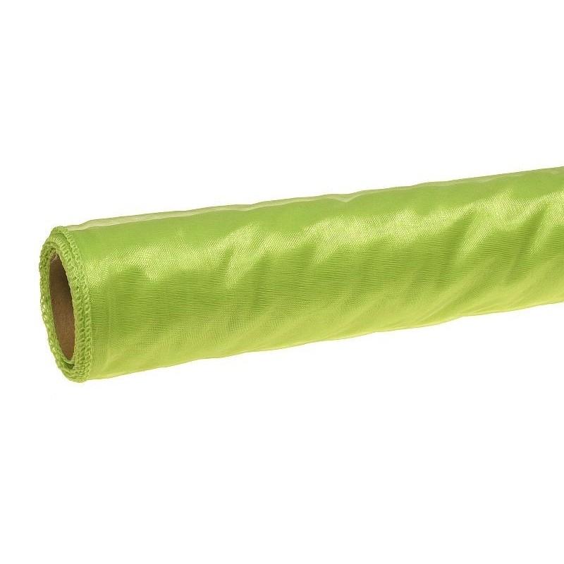 Organza 36 cm x 9 m   5072 - Zielony