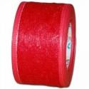 Flizelina wstążka - 4 cm x 10 m | Z7 - Czerwony
