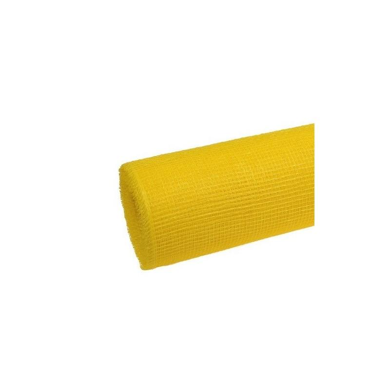 Siatka plastikowa 50 cm x 10y - 04 Żółty