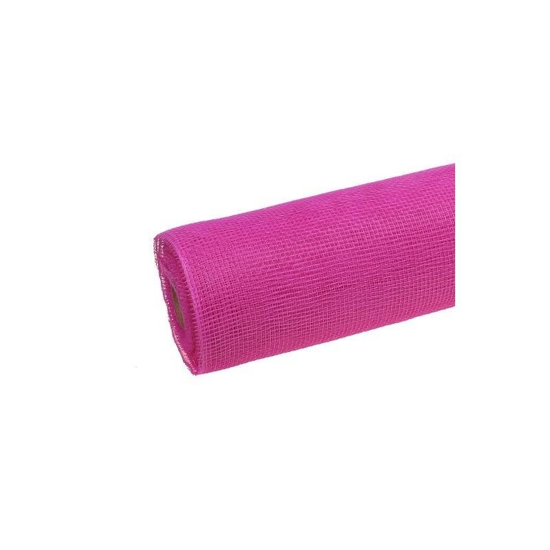 Siatka plastikowa 50 cm x 10y - 5018 Różowy
