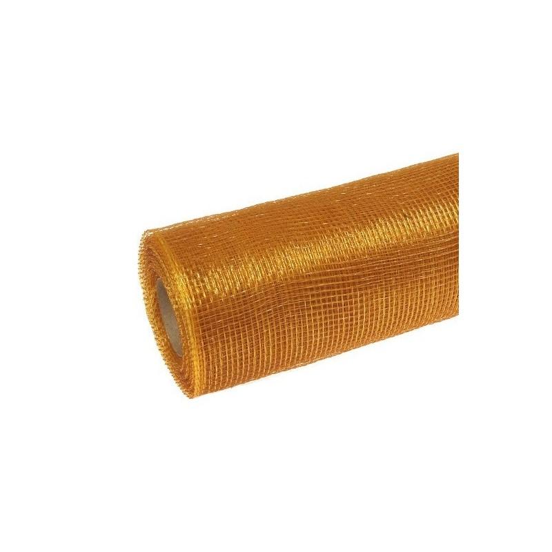 Siatka plastikowa 50 cm x 10y - 15 Gold