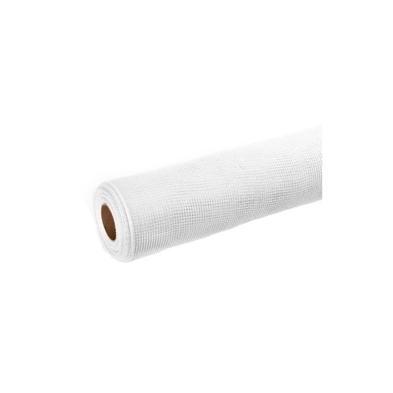 Siatka plastikowa 50 cm x 10y - 01 Biały