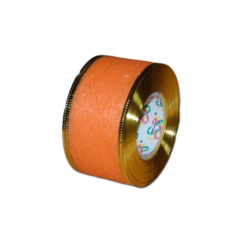 Flizelina wstążka - 4 cm x 10 m | Z5z - Pomarańczowy