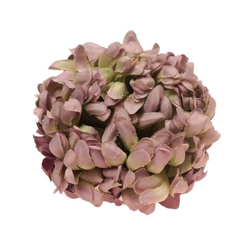 Chryzantema wrzosowo-zielona - kwiat wyrobowy