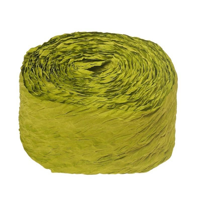 Krepina - wstążka zielona