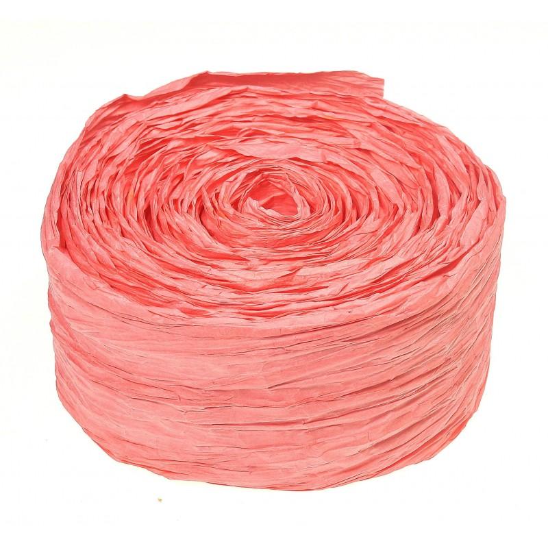 Krepina - wstążka różowa