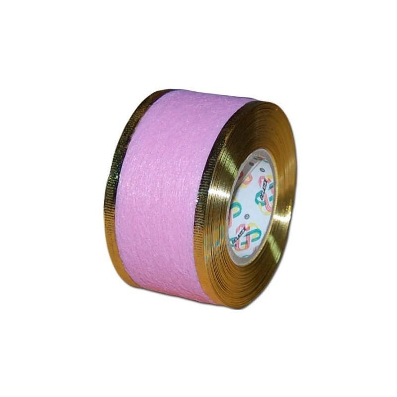 Flizelina wstążka - 4 cm x 10 m | Z6z - Różowy