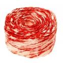 Krepina - wstążka różowy + czerwony