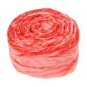 Krepina - wstążka różowy + amarant