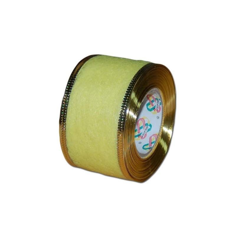 Flizelina wstążka - 4 cm x 10 m | Z10z - Cytrynowy
