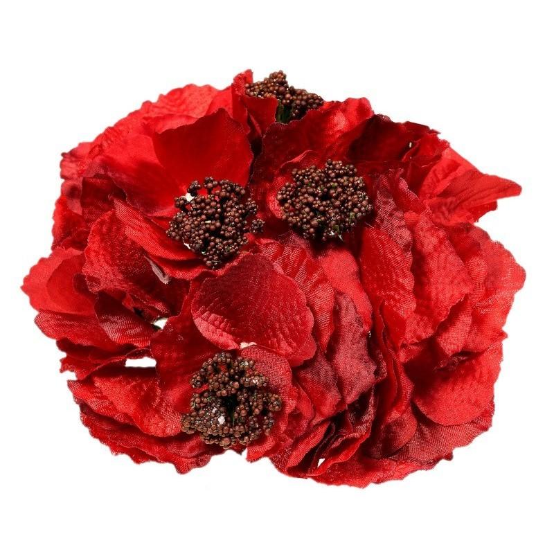 Hortensja czerwona - kwiat wyrobowy
