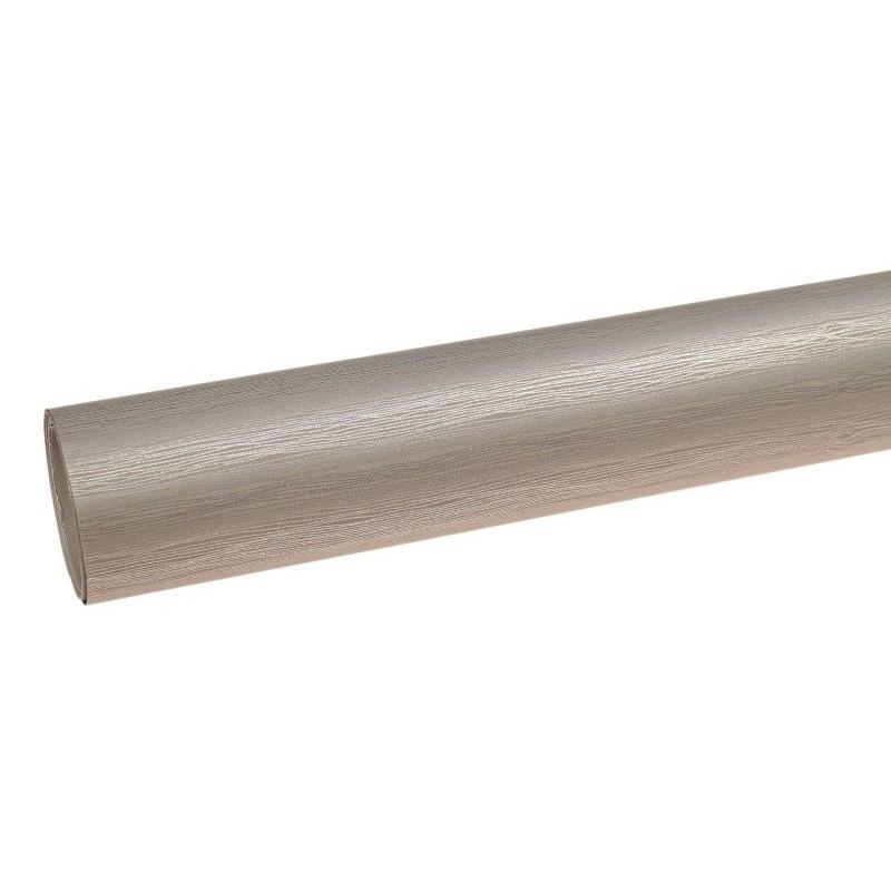 Papier metalizowany w paski - szary