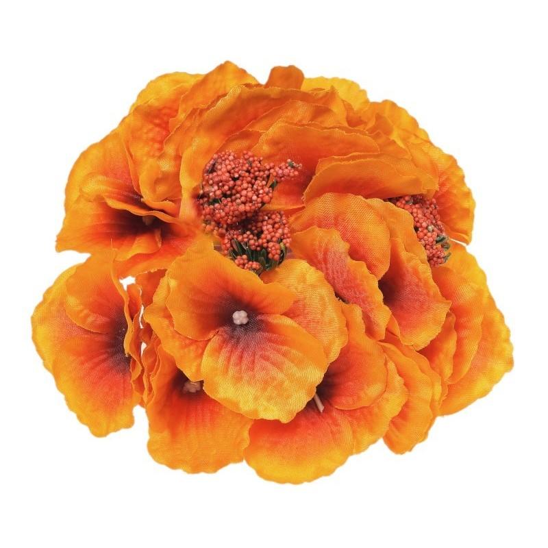 Hortensja pomarańczowa - kwiat wyrobowy