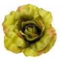 Róża satynowa oliwkowa - kwiat wyrobowy