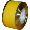 Flizelina wstążka - 4 cm x 10 m   Z15z - Żółty