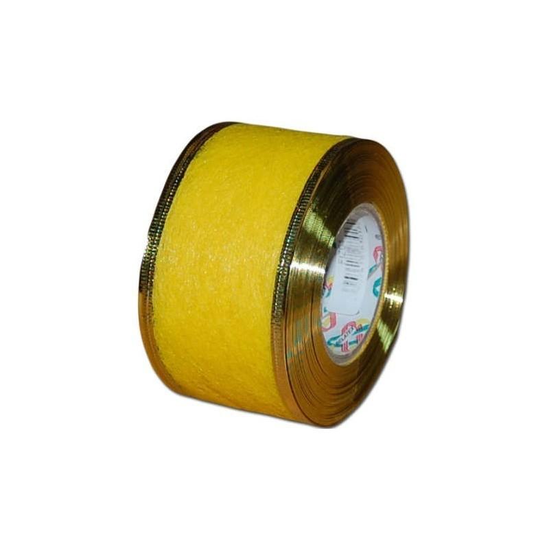 Flizelina wstążka - 4 cm x 10 m | Z15z - Żółty