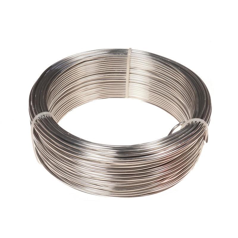 Ring aluminiowy 0,5 kg - srebrny