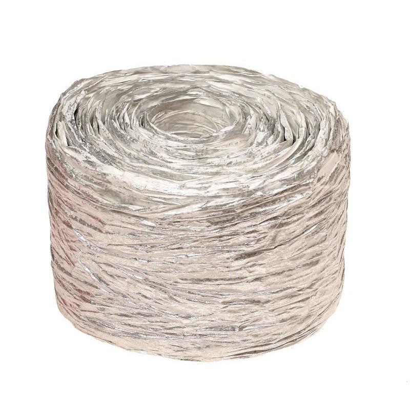 Krepina - wstążka srebrna