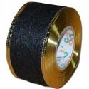Flizelina wstążka - 4 cm x 10 m   Z25z - Czarny