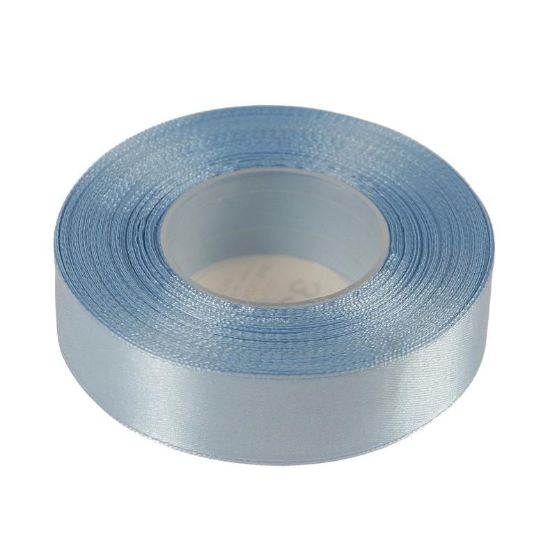 Wstążka satynowa 25mm x 32m | Niebieski