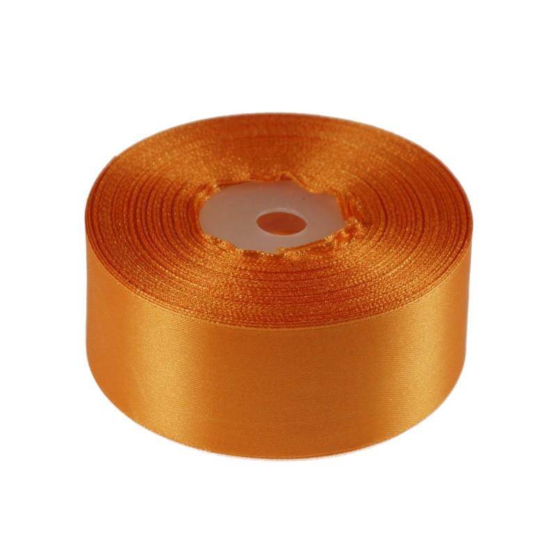Wstążka satynowa  38 mm x 32 m   Pomarańczowy