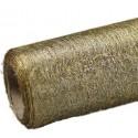 Flizelina 50 cm x 7 m | Złoty metalizowany