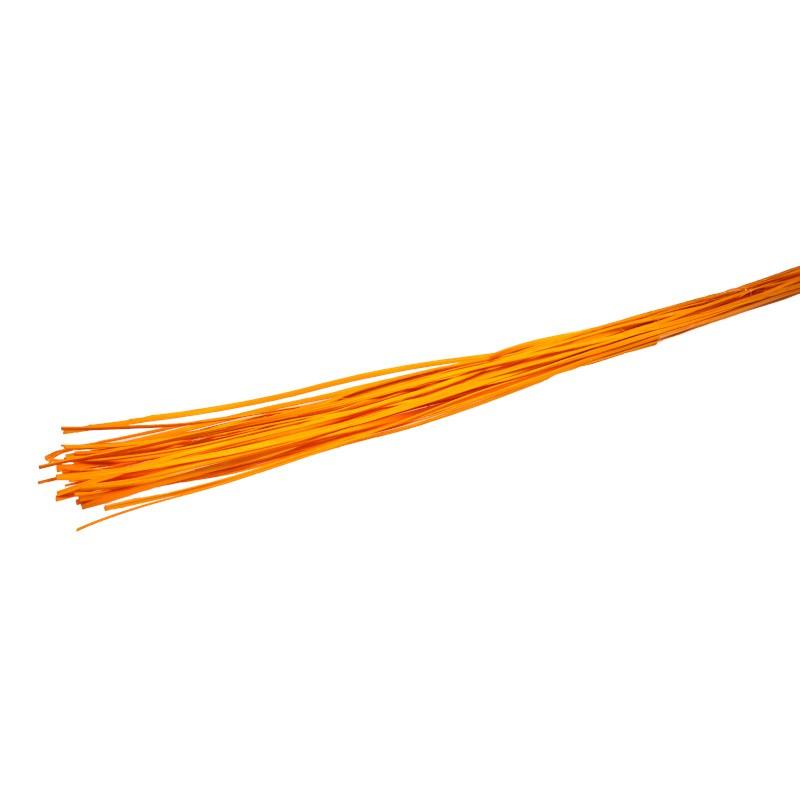 Rattan prosty 1 m - pomarańczowy
