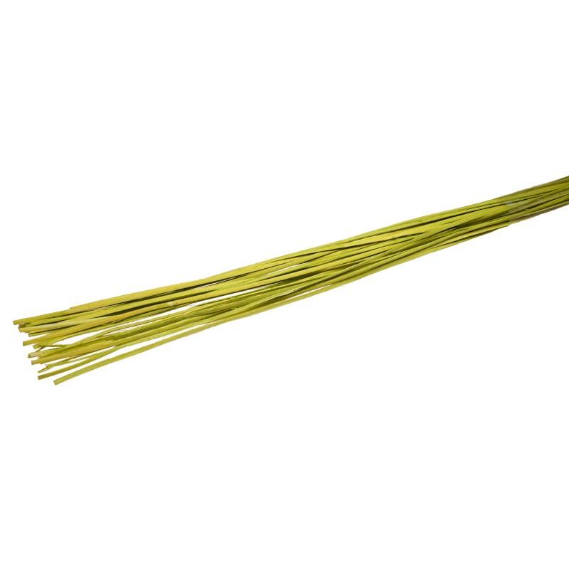 Rattan prosty 1 m - oliwkowy