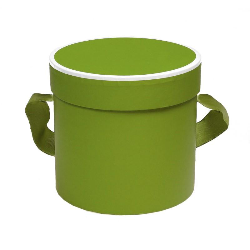 Mini flowerbox 12 cm x 11cm - zielony