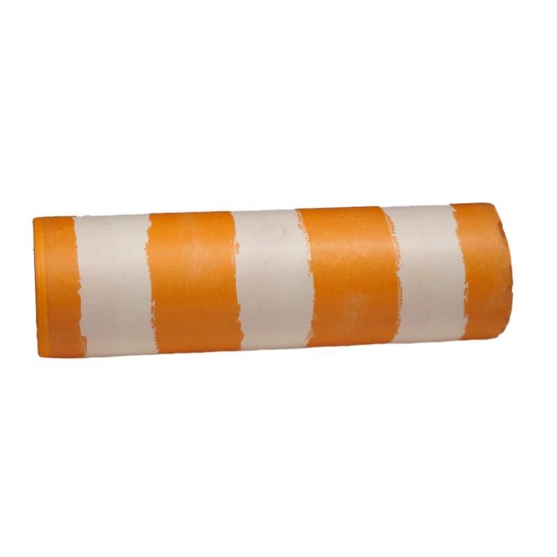 Papier dekoracyjny  25 cm x 20 m - pomarańczowe pasy