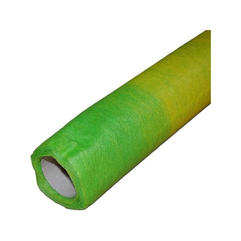 Flizelina 50 cm x 7 m | Zm1514 - Zielony i żółty